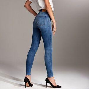 Aritzia Denim Forum The Lola Highrise Skinny Jeans